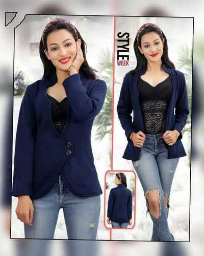 Ladies coat 2 button