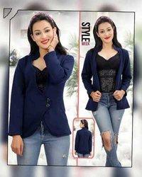 Ladies coat 2 button