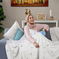 Fleece Blanket Egyptian Dreams