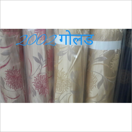 Gold 3D Candy Designs Curtain