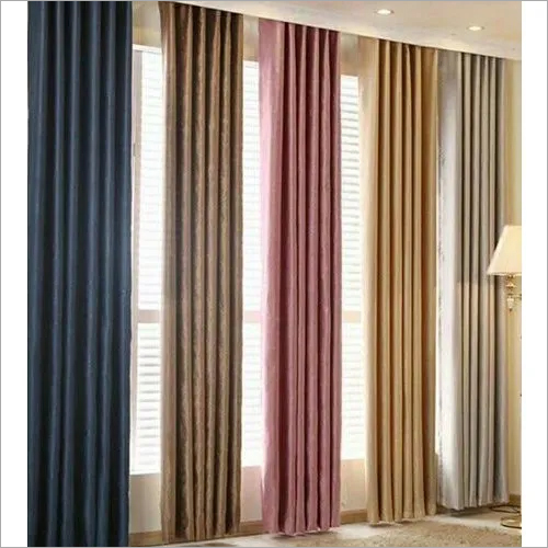 Available In Different Color Curtain Cloths