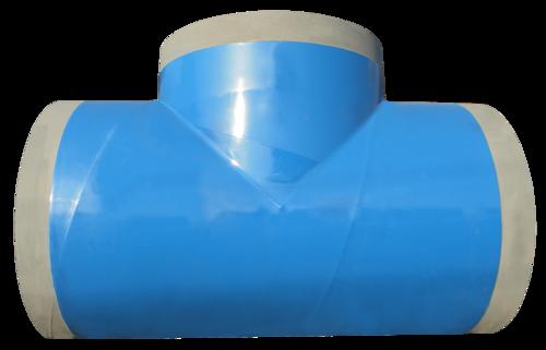 Polyethylene 3layer Coated steel fittings - T shape