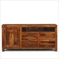 Hardwood Wooden Side Board