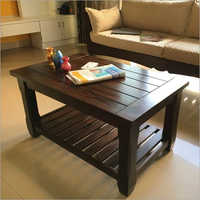 Rectangular Wooden Center Table