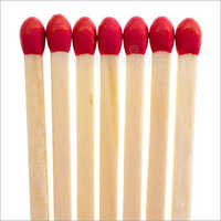 Red Safety Matchstick
