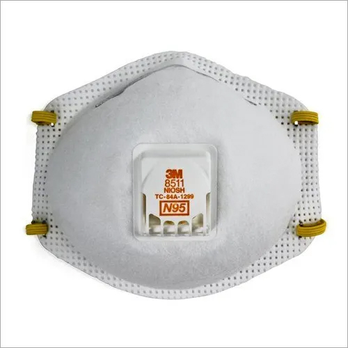 3M 8511 N95 Particulate Respirator Face Mask