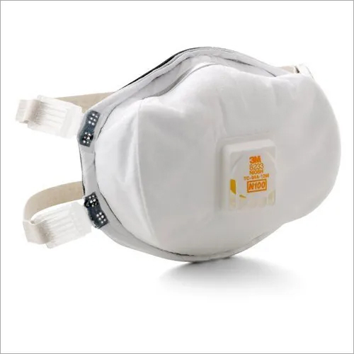 Moldex N100 Respirators Face Mask With Handy Strap And Valve