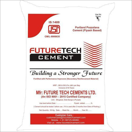 Future Tech Portland Pozzolana Cement
