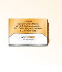 Calcitriol Calcium Citrate Malte Vitamin K2-7 Methylcobalamin Zinc Magnesium and L-Methyl Folate Soft Gelatin Capsules
