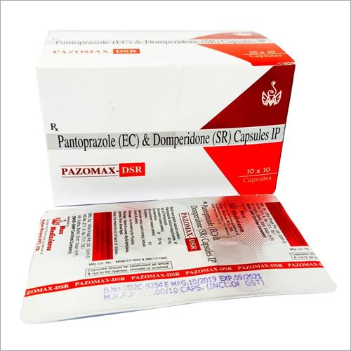 PAZOMAX DSR CAP Pantoprazole and Domperidone Capsules