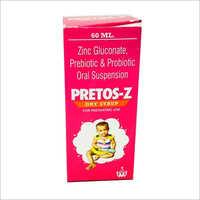 60 ml Zinc Gluconate Prebiotic and Probiotic Oral Syrup