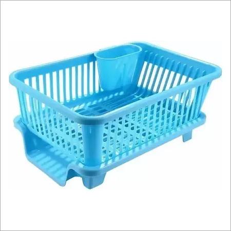Plastic sink drainer