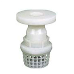 PP Foot Valve With Flange End