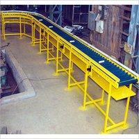 Idler PU Coated Roller Automobile Industry Conveyor