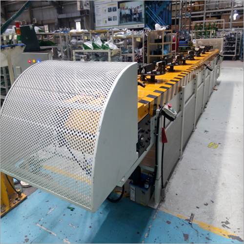 Slat Conveyor For Radiator Assembly