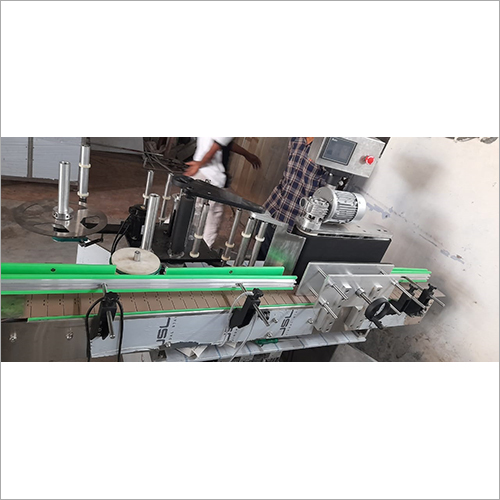 Automatic Double Sided Labeling Machine