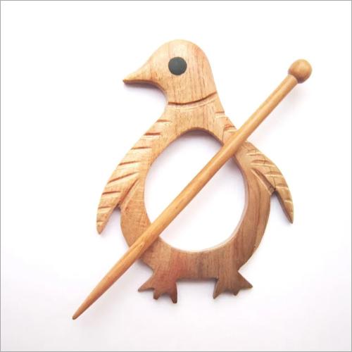 Penguin Shawl Pin