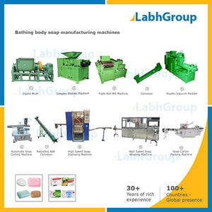 Bathing Body Soap Manufacturing Machines