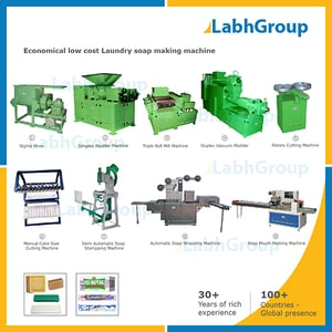 Economical Low Cost Laundry Soap Making Machine