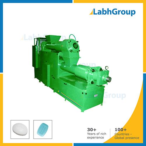 Duplex Vacuum Plodder Machine For Soap & Laundry Bar