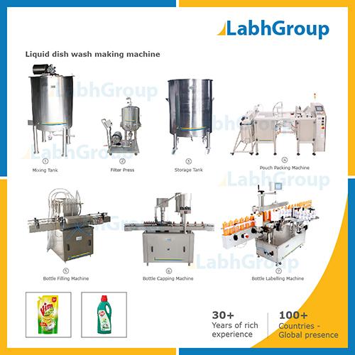 Liquid Dish Wash Making Machine