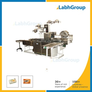 Automatic Toilet Soap Paper Wrapping Machine
