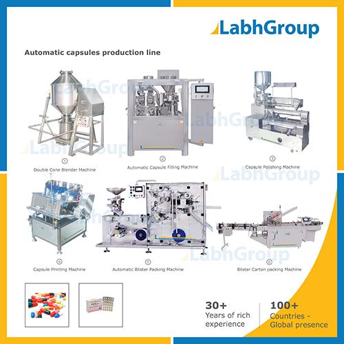 Pharma Capsules Making Machine - Production Plant
