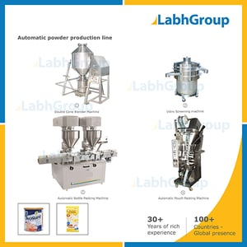 Medicine Pharma Powder Making Machine - Production Plant