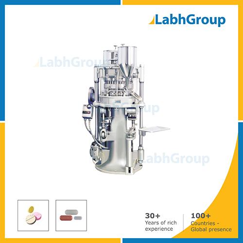Double Sided Rotary Pharma Tablet Pills Press Machine