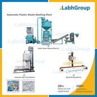 Economical Low Cost Plastic Waste Washing Plant