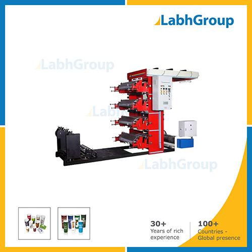 Four Colour Paper Cup Flexographic Printing Machine