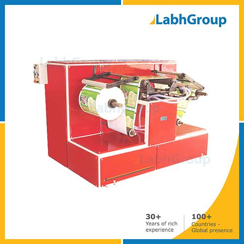 Doctoring Rewinder Machine For Printing