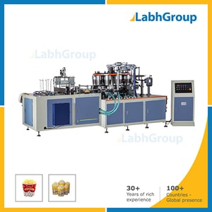 Automatic Popcorn Paper Cup Bowl Forming Machine