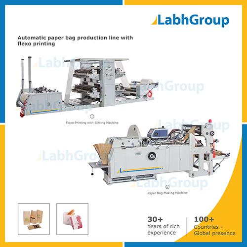 Automatic Paper Bag Making Machine - Production Line