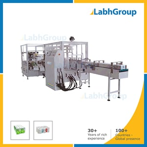 Automatic Toilet Paper Roll Group In Plastic Bag Packing Machine