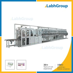 Automatic Wet Tissue Paper Making Machine - Production Line