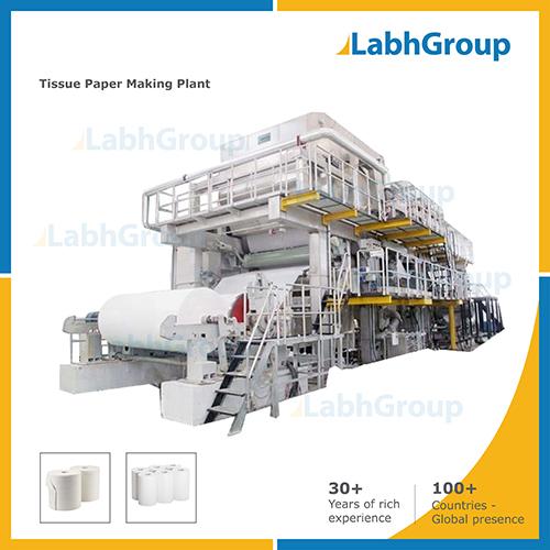 Tissue Paper Making Machine - Production Plant