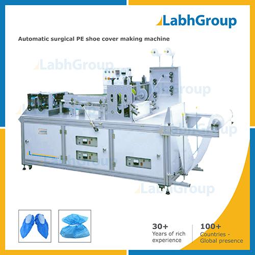 Disposable Polyethylene Pe Shoe Cover Making Machine