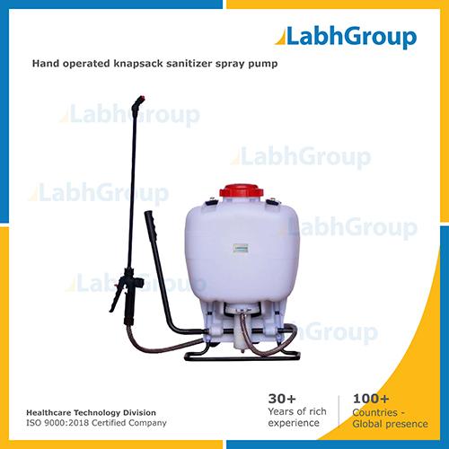 Hand Operated Knapsack Sanitizer Spray Pump