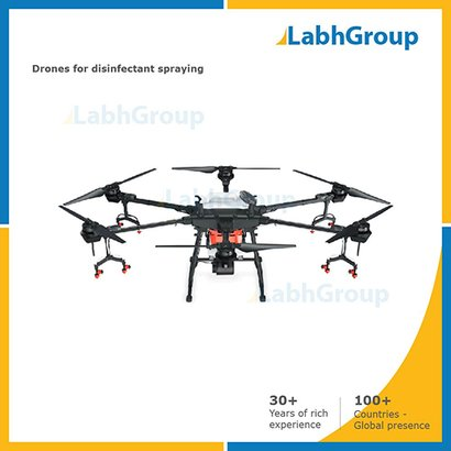 Drones For Disinfectant Spraying Certifications: Iso 9001-2015