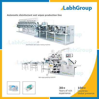Automatic Disinfectant Wet Wipes Production Line Certifications: Iso 9001-2015