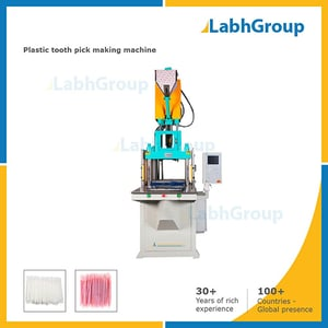Plastic Deltal Floss Tooth Pick Making Machine