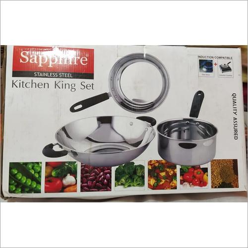 Stainless Steel Kitchen King Set