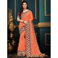 Festive Wear Cotton Silk Saree