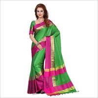Designer Silk Cotton Saree