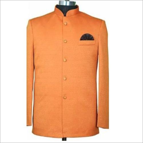 Orange Hotel Cotton Uniform Coat