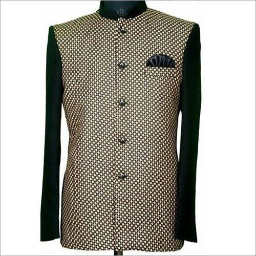 Mens Check Hotel Uniform Coat