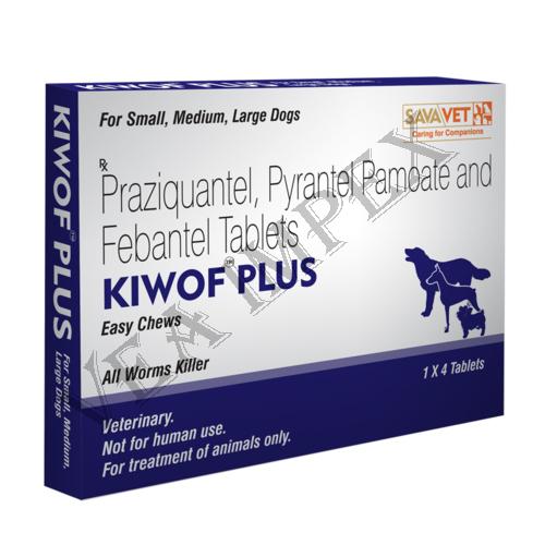 Kiwof Plus Praziquantel Tablets