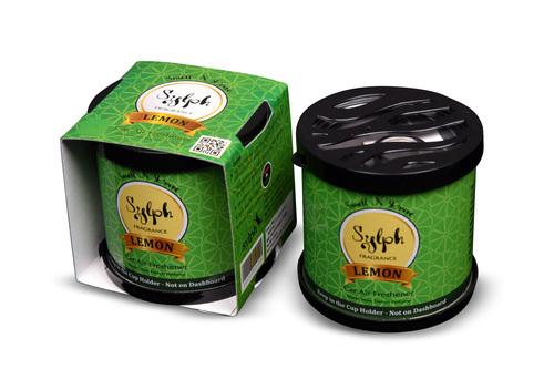 Lemon Gel Car Air Freshener (Oil based)