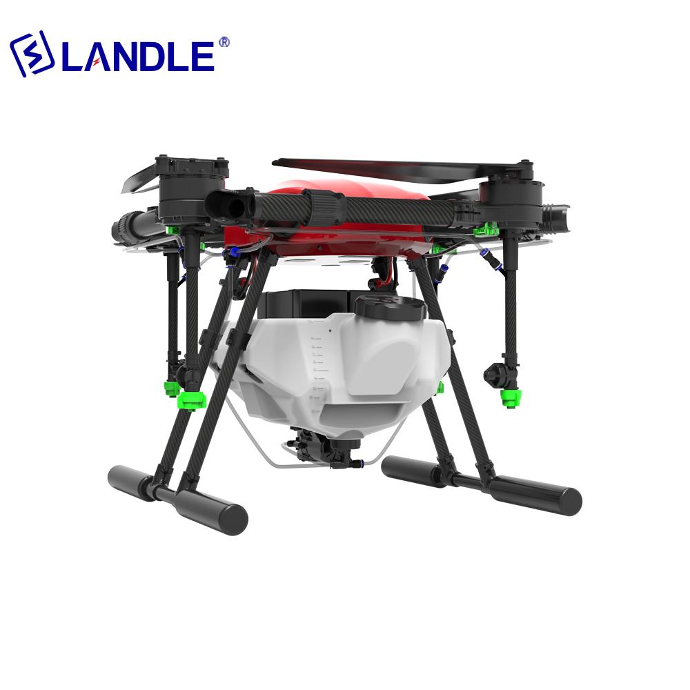 NLA416 16L UAV Agricultural Sprayer 4 Wings Drone For Farm
